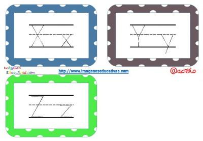 Librito de trazos formato llavero Mestra KG Primary Dots Lined (7)