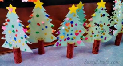 Manualidades navidad rollos papel (10)