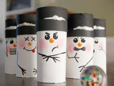 Manualidades navidad rollos papel (2)