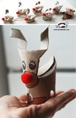 Manualidades navidad rollos papel (6)
