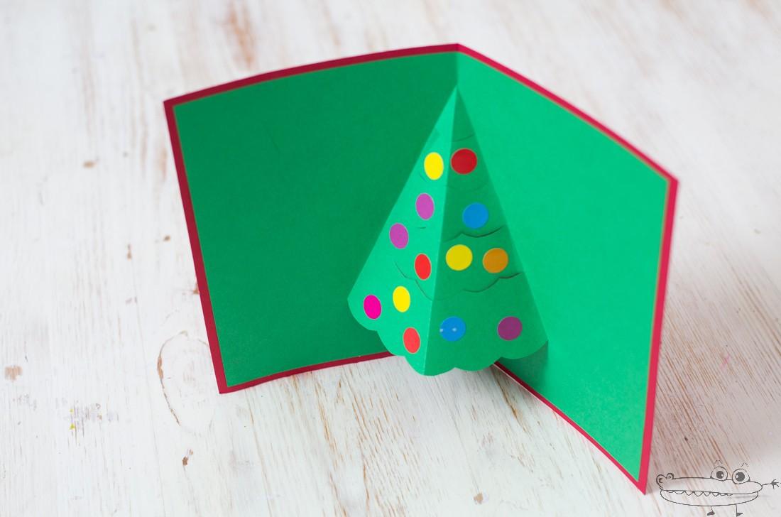 Como hacer sobre cuadrado para tarjeta tarjetas de navidad - Como hacer targetas de navidad ...