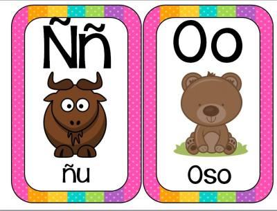 Abecedario Animales formato tarjetas (8)