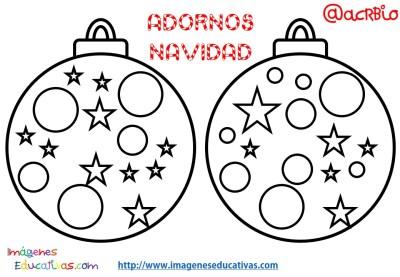 Bolas de navidad colorear (10)