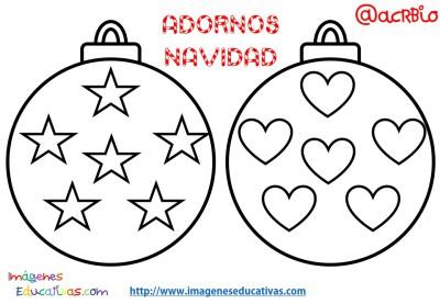 Bolas de navidad colorear (2)