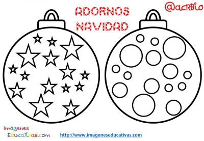 Bolas de navidad colorear (6)