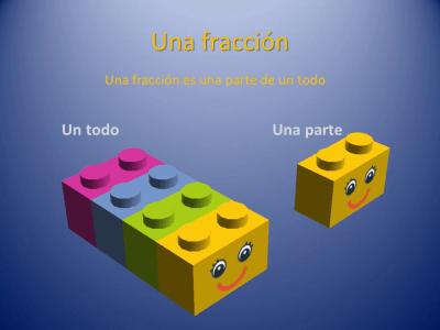 Fracciones con piezas de Lego (1)