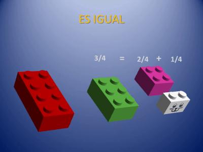 Fracciones con piezas de Lego (18)