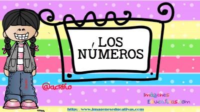 Los números tarjetas para repasar letra guiada (1)