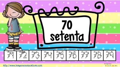 Los números tarjetas para repasar letra guiada (8)