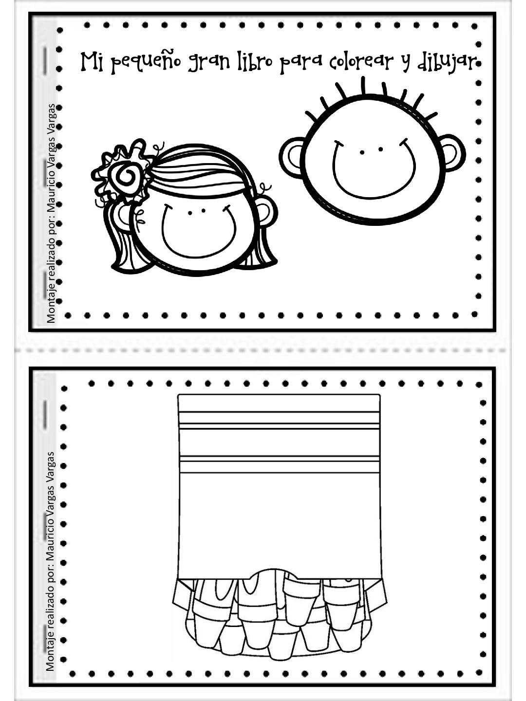 Mi pequeño gran libro para colorear y dibujar (1) - Imagenes Educativas