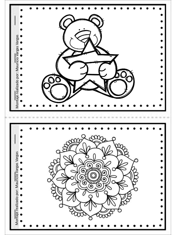 Mi pequeño gran libro para colorear y dibujar (9) - Imagenes Educativas
