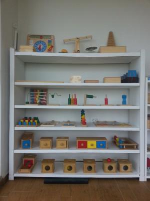Montessori áreas del Matemáticas 8