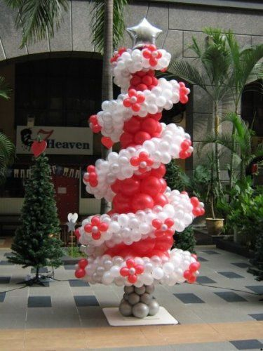 navidad globos decoracion