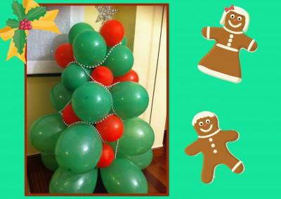 Navidad Globos decoracion (19)