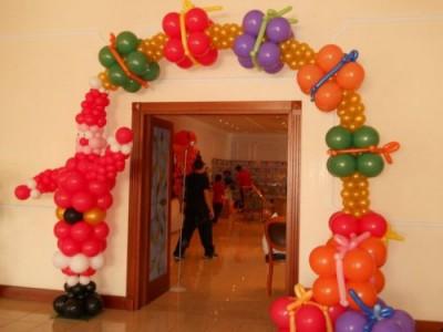 Navidad Globos decoracion (21)