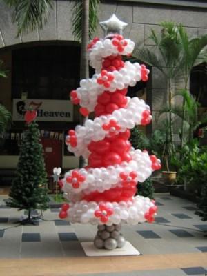 Navidad Globos decoracion (22)