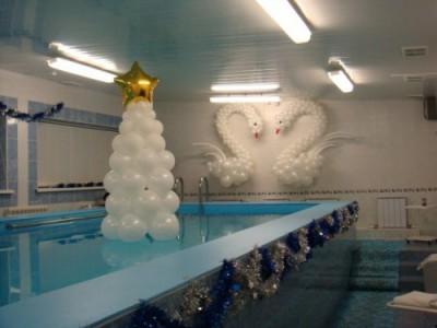 Navidad Globos decoracion (25)