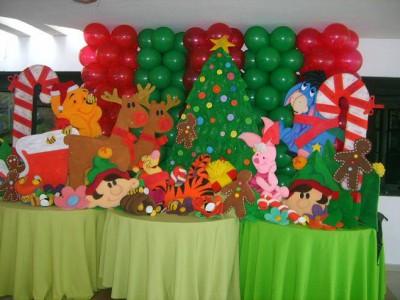 Navidad Globos decoracion (6)