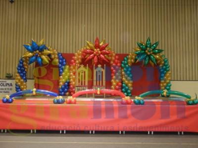 Navidad Globos decoracion (8)