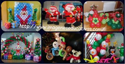 Navidad Globos decoracion Portada