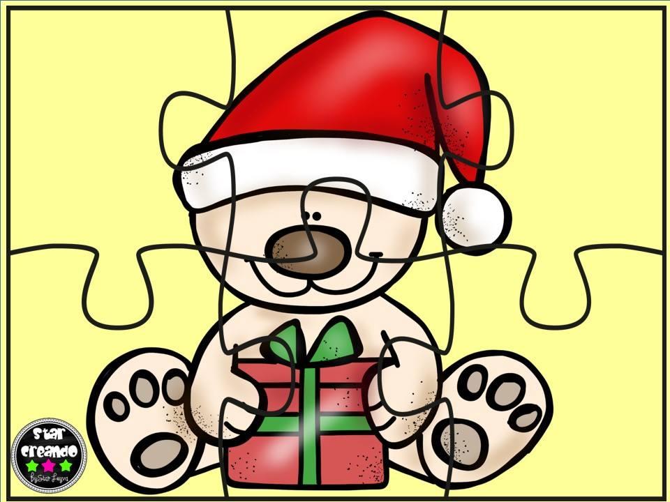 Puzzles Navidad Color (3) - Imagenes Educativas