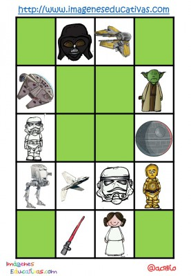 STAR WARS BINGO (15)