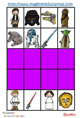 STAR WARS BINGO (20)