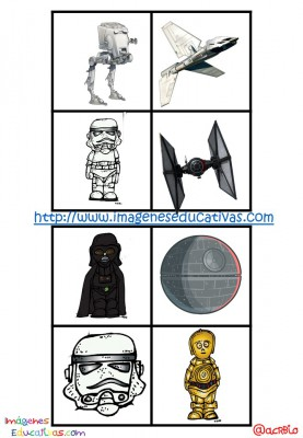 STAR WARS BINGO (24)
