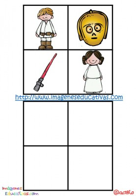 STAR WARS BINGO (25)