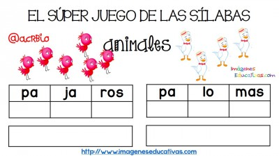 Super juego practicamos la descomposición en sílabas (13)