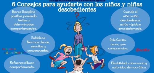6 Consejos para ayudarte con los niños y niñas desobedientes Portada
