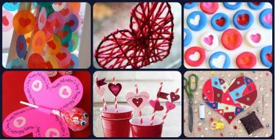 20 Manualidades Creativas Para El 14 De Febrero San Valentin Dia - Manualidades-creativas