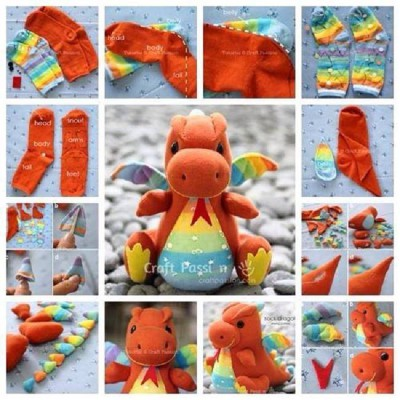 Manualidades con calcetines (11)