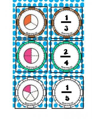 Memorama de Fracciones (2)