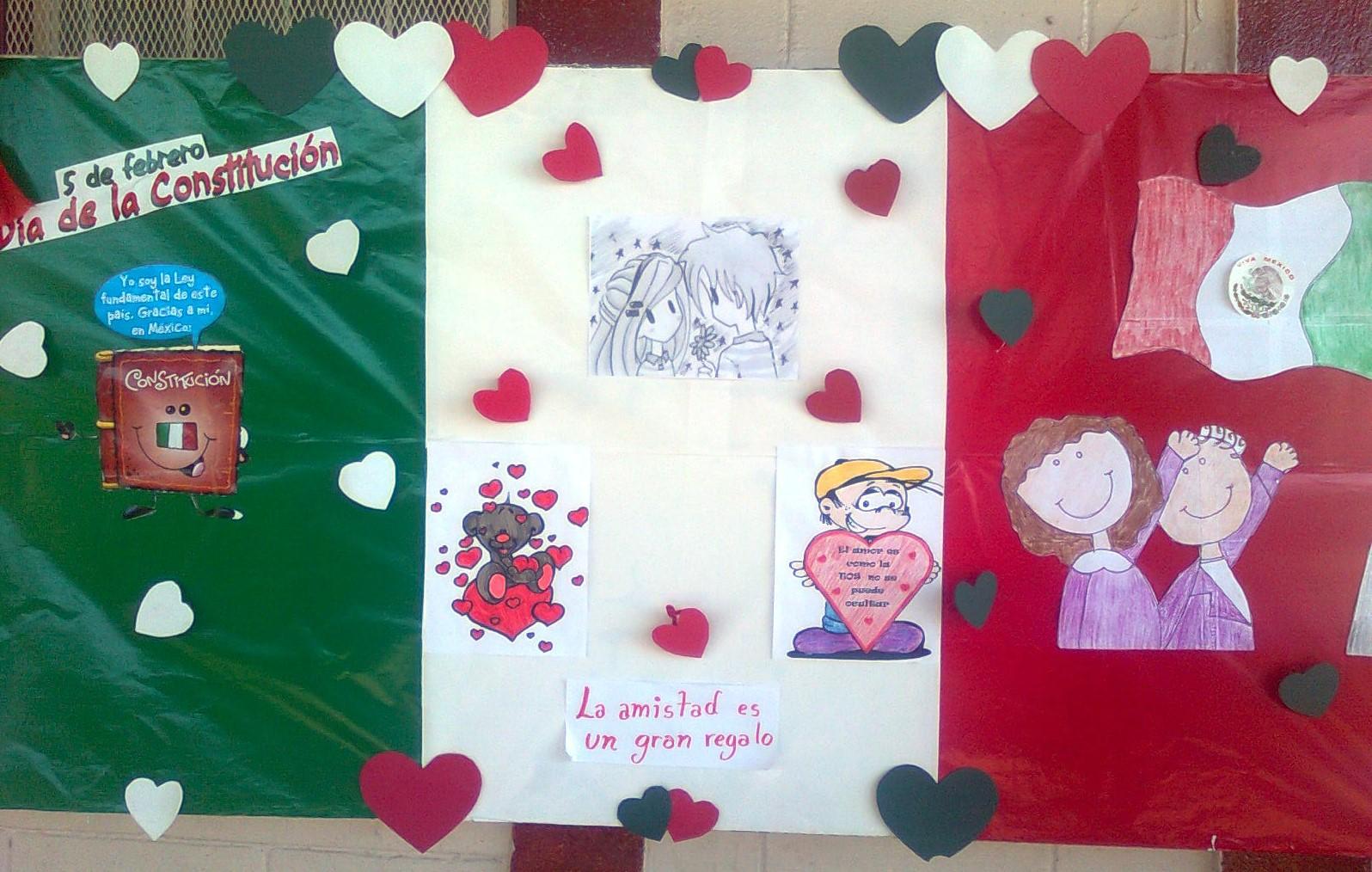 Periodico mural febrero (4) Imagenes