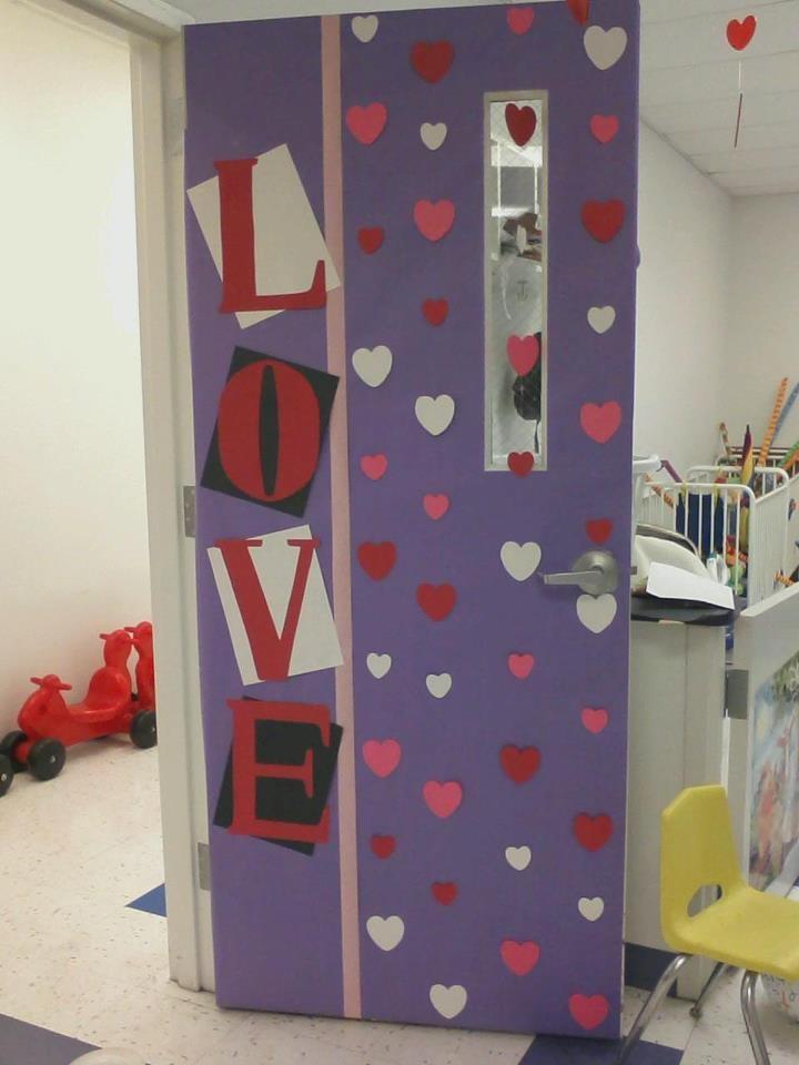 Puertas san valent n 5 imagenes educativas for Decoracion de puertas de san valentin
