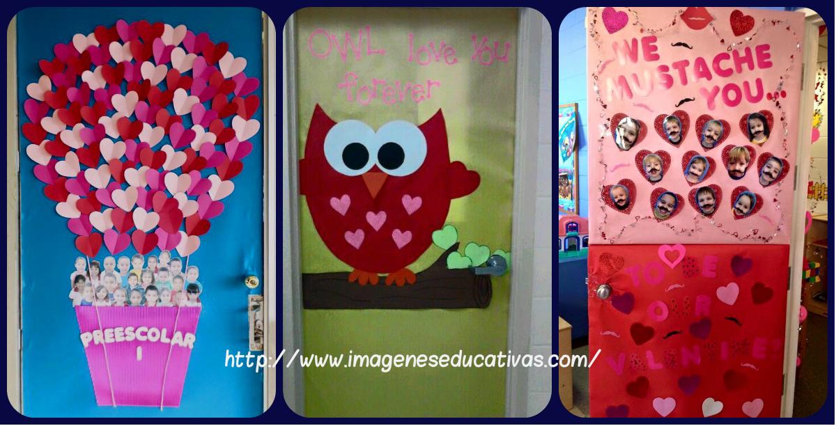 Colecci n de puertas para decorar nuestras clases el 14 for Decoracion amor y amistad oficina
