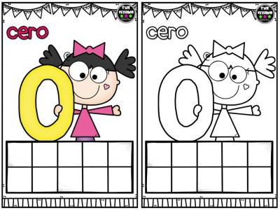 Repasamos los números y nos divertimos coloreando (1)