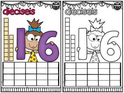 Repasamos los números y nos divertimos coloreando (17)