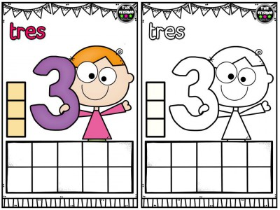 Repasamos los números y nos divertimos coloreando (4)