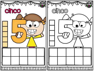 Repasamos los números y nos divertimos coloreando (6)