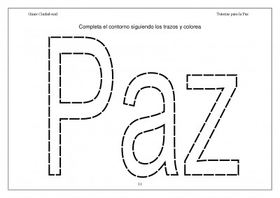 Super Cuaderno Día de la Paz y la No Violencia grafo y colorear (11)