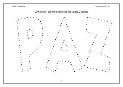 Super Cuaderno Día de la Paz y la No Violencia grafo y colorear (12)
