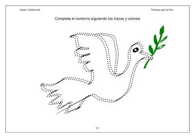 Super Cuaderno Día de la Paz y la No Violencia grafo y colorear (25)