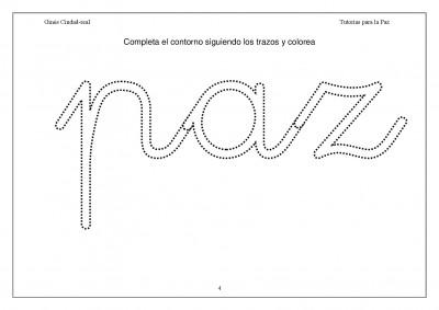 Super Cuaderno Día de la Paz y la No Violencia grafo y colorear (4)