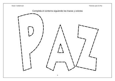 Super Cuaderno Día de la Paz y la No Violencia grafo y colorear (9)