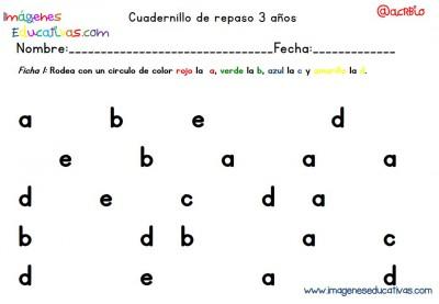 Cuadernillo complementario para 3 años, Educación Preescolar  (1)