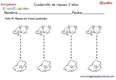 Cuadernillo complementario para 3 años, Educación Preescolar  (14)