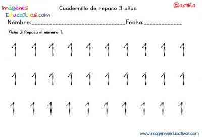 Cuadernillo complementario para 3 años, Educación Preescolar  (3)