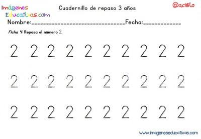 Cuadernillo complementario para 3 años, Educación Preescolar  (4)